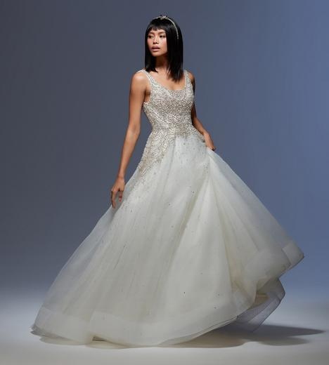 Sylvia gown from the 2020 Lazaro collection, as seen on Bride.Canada