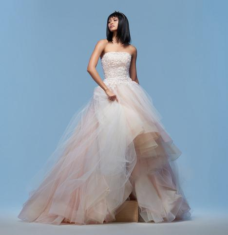 Grace gown from the 2020 Lazaro collection, as seen on Bride.Canada