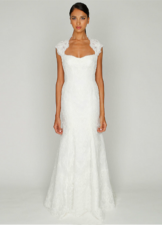 1210 gown from the 2012 Monique Lhuillier: Bliss collection, as seen on Bride.Canada