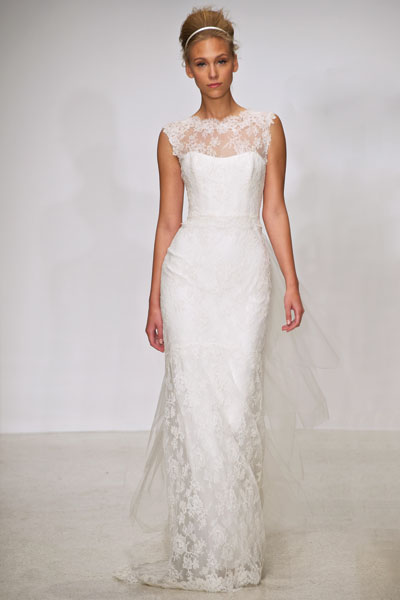 Eve gown from the 2012 Christos collection, as seen on Bride.Canada