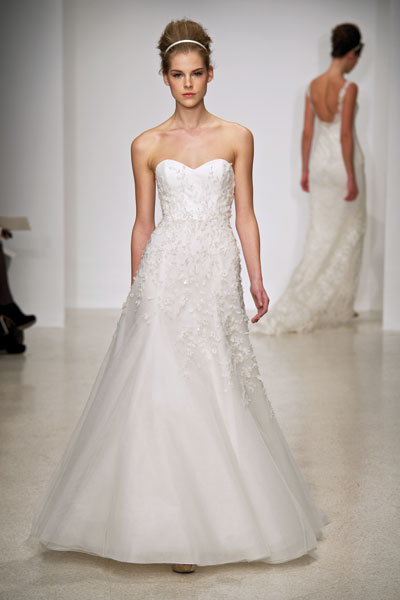 Skye gown from the 2012 Christos collection, as seen on Bride.Canada