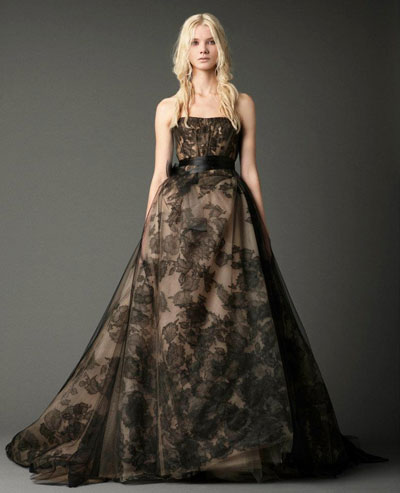 Jacqueline gown from the 2012 Vera Wang collection, as seen on Bride.Canada