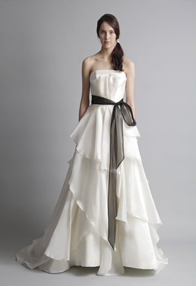 Barbara gown from the 2013 Alyne collection, as seen on Bride.Canada