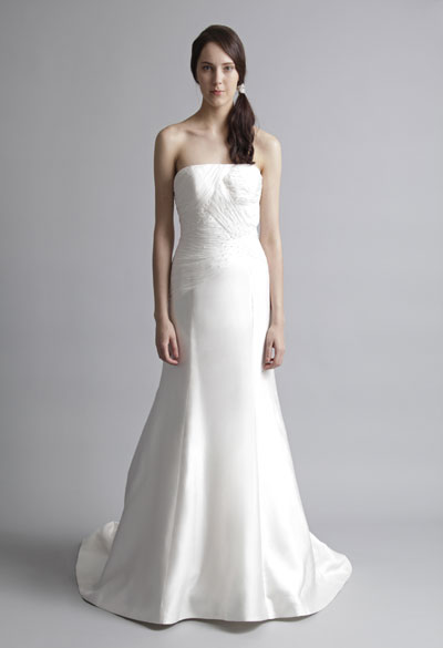 Lucille gown from the 2013 Alyne collection, as seen on Bride.Canada