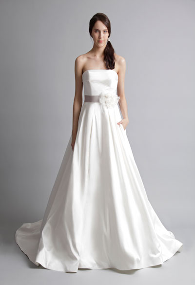 Marilyn gown from the 2013 Alyne collection, as seen on Bride.Canada