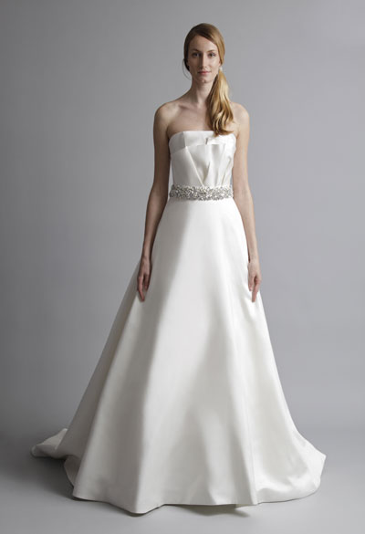 Natalie gown from the 2013 Alyne collection, as seen on Bride.Canada