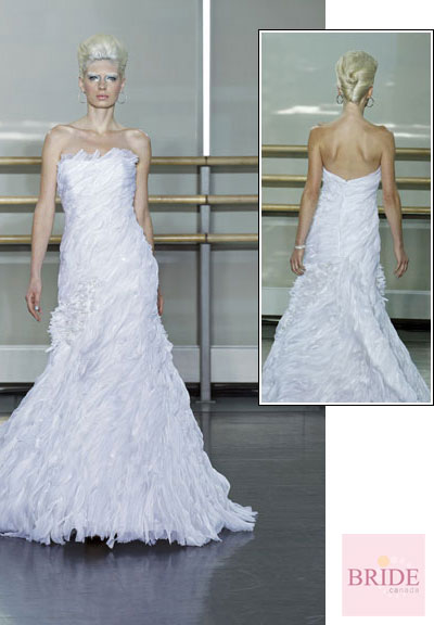 Brina gown from the 2013 Rivini collection, as seen on Bride.Canada