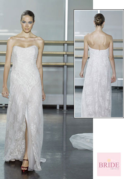 Celine gown from the 2013 Rivini collection, as seen on Bride.Canada