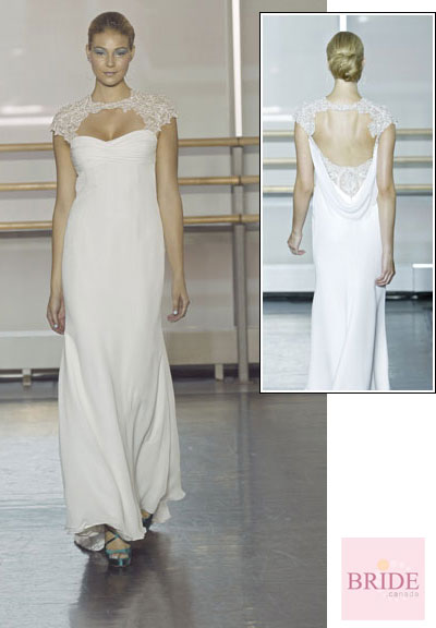 Crystal gown from the 2013 Rivini collection, as seen on Bride.Canada
