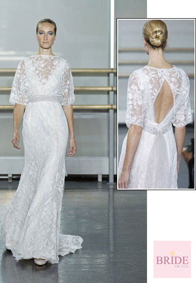 Delicata gown from the 2013 Rivini collection, as seen on Bride.Canada