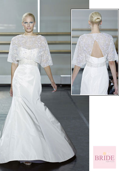Etrine gown from the 2013 Rivini collection, as seen on Bride.Canada