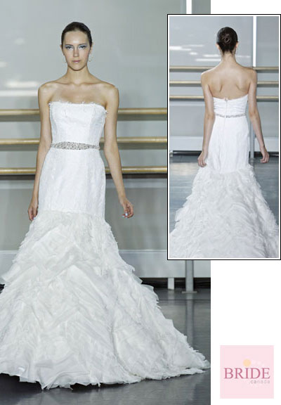 Nieve gown from the 2013 Rivini collection, as seen on Bride.Canada