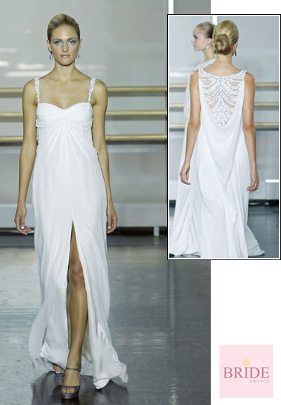 Nova gown from the 2013 Rivini collection, as seen on Bride.Canada