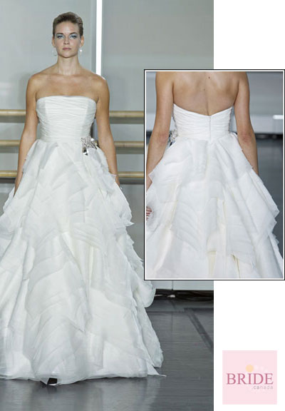 Principessa gown from the 2013 Rivini collection, as seen on Bride.Canada