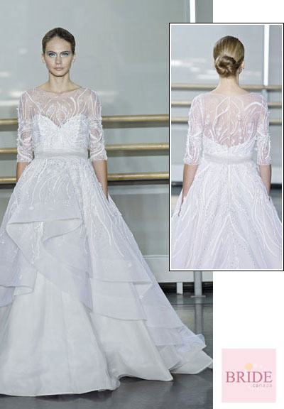 Sania gown from the 2013 Rivini collection, as seen on Bride.Canada
