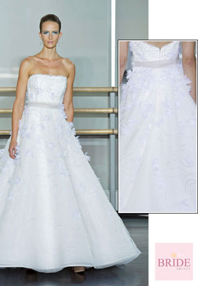 Snow Drop gown from the 2013 Rivini collection, as seen on Bride.Canada