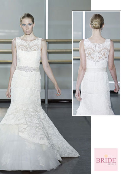 Wysteria gown from the 2013 Rivini collection, as seen on Bride.Canada