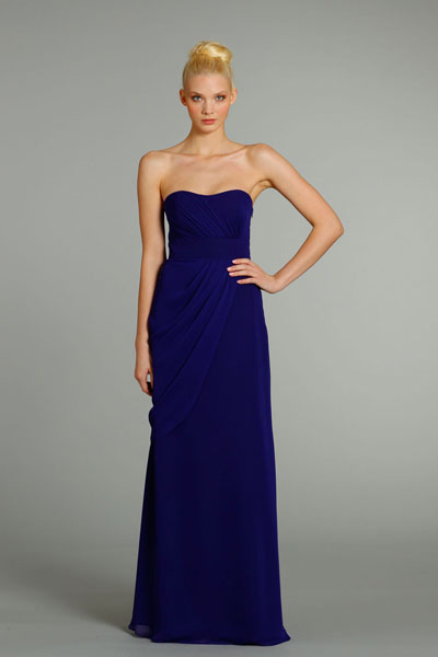 5277 gown from the 2012 Hayley Paige: Occasions collection, as seen on Bride.Canada
