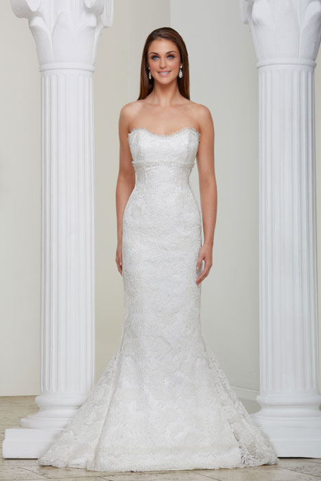 Rhianne gown from the 2013 Caroline Castigliano collection, as seen on Bride.Canada