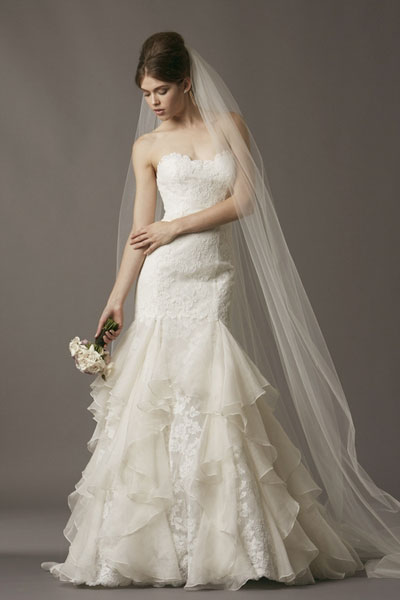 Rosamund gown from the 2013 Watters Brides collection, as seen on Bride.Canada