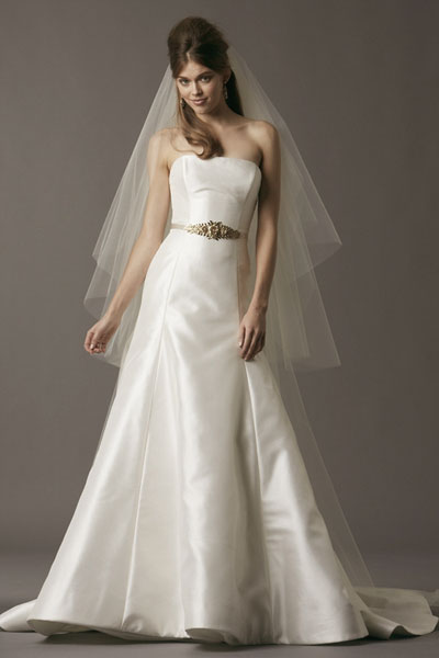 Joss gown from the 2013 Watters Brides collection, as seen on Bride.Canada