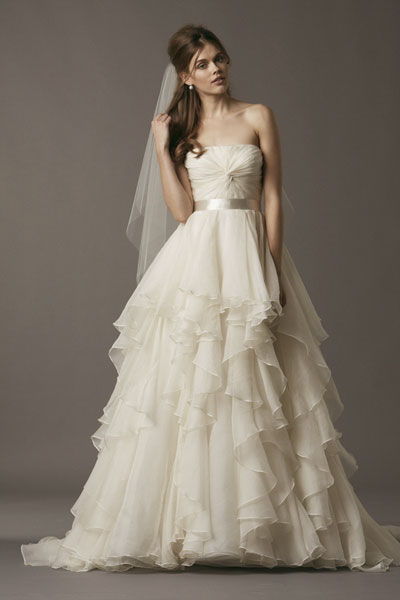 Brooke gown from the 2013 Watters Brides collection, as seen on Bride.Canada