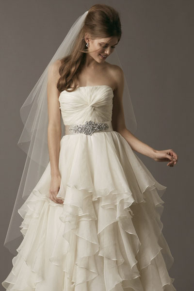 Felicity gown from the 2013 Watters Brides collection, as seen on Bride.Canada