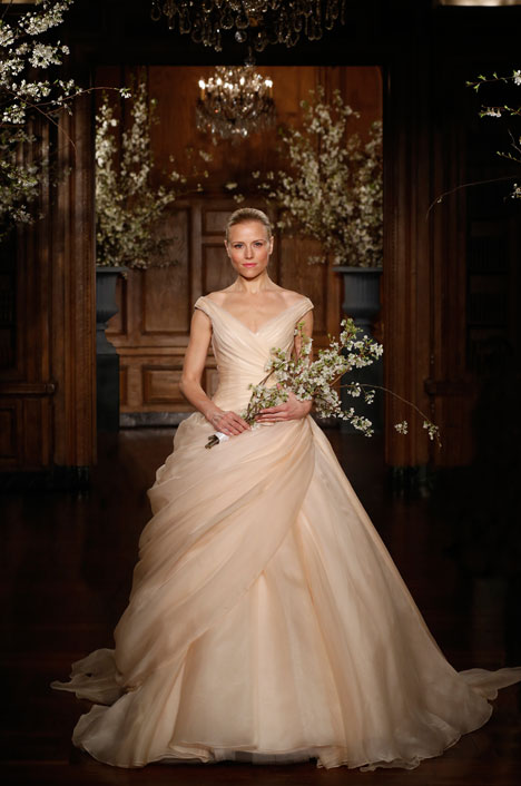 RK525 gown from the 2014 Romona Keveza Collection collection, as seen on Bride.Canada