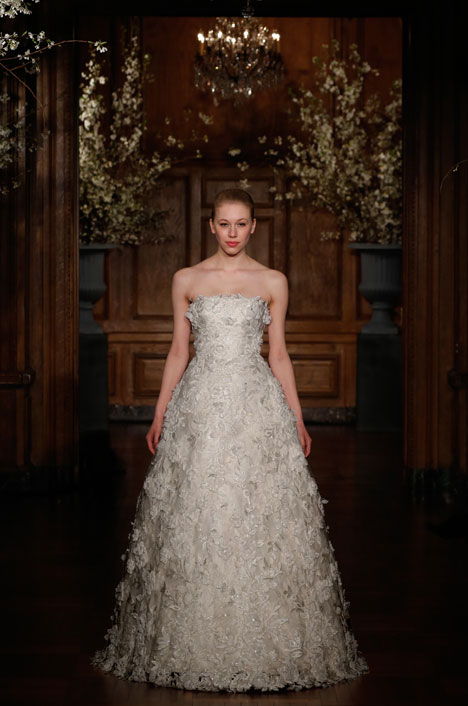 RK531 gown from the 2014 Romona Keveza Collection collection, as seen on Bride.Canada