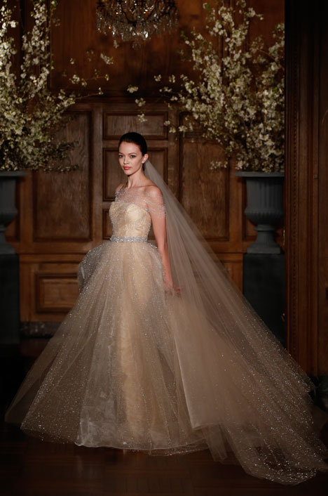 RK534 gown from the 2014 Romona Keveza Collection collection, as seen on Bride.Canada