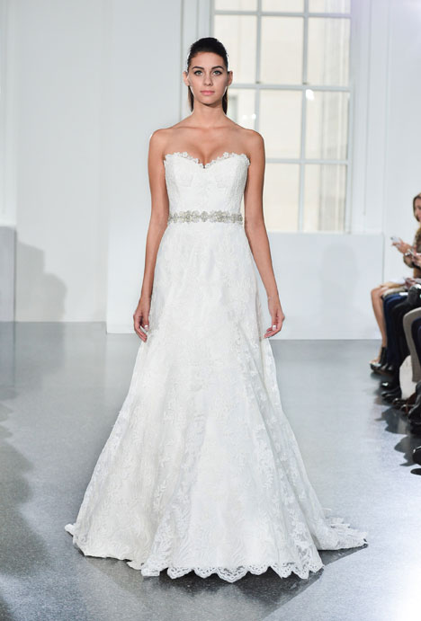 L553 gown from the 2014 Legends Romona Keveza collection, as seen on Bride.Canada