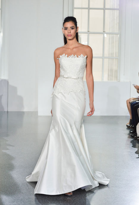 L555 gown from the 2014 Legends Romona Keveza collection, as seen on Bride.Canada