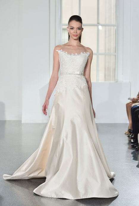 L559 gown from the 2014 Legends Romona Keveza collection, as seen on Bride.Canada