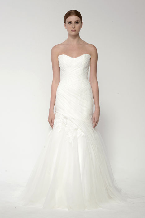 1406 gown from the 2014 Monique Lhuillier: Bliss collection, as seen on Bride.Canada