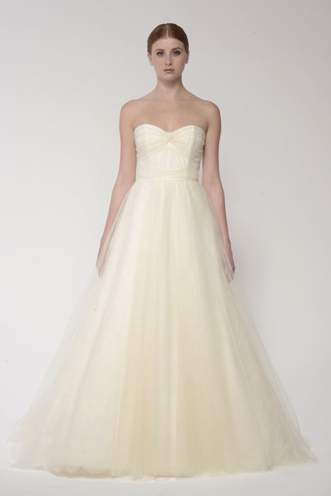 1412 gown from the 2014 Monique Lhuillier: Bliss collection, as seen on Bride.Canada