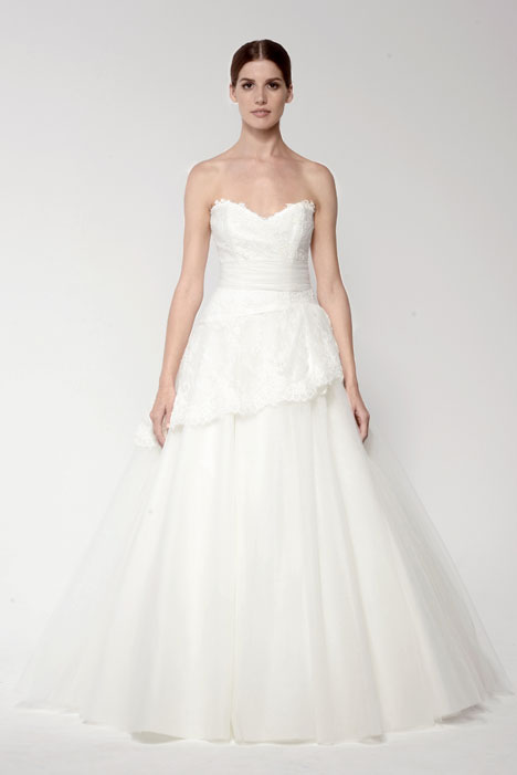 1428 gown from the 2014 Monique Lhuillier: Bliss collection, as seen on Bride.Canada