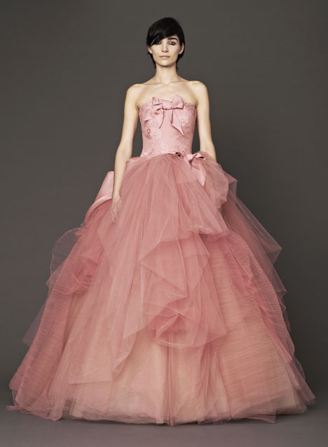Nora gown from the 2014 Vera Wang collection, as seen on Bride.Canada