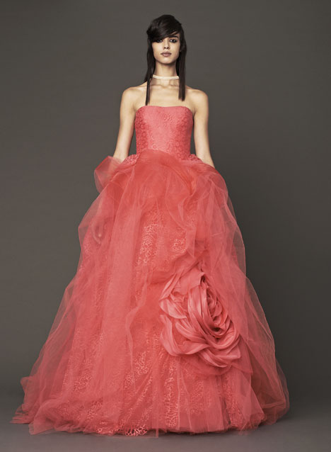 Nicolette gown from the 2014 Vera Wang collection, as seen on Bride.Canada