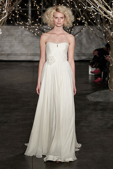 Vivien gown from the 2014 Jenny Packham collection, as seen on Bride.Canada