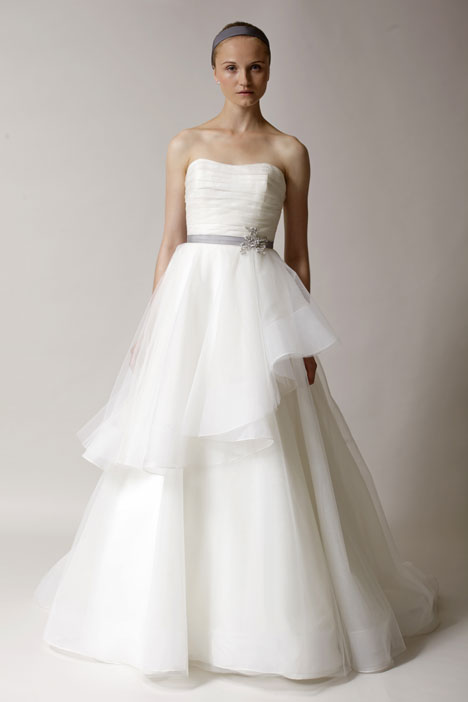 Agyness gown from the 2014 Alyne collection, as seen on Bride.Canada