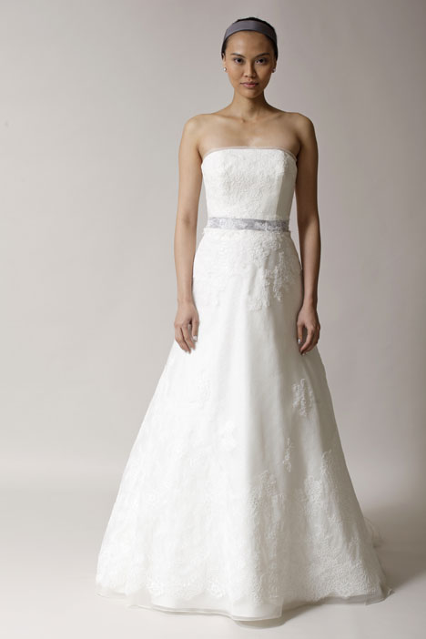 Alexa gown from the 2014 Alyne collection, as seen on Bride.Canada
