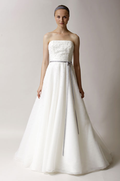 Kate gown from the 2014 Alyne collection, as seen on Bride.Canada