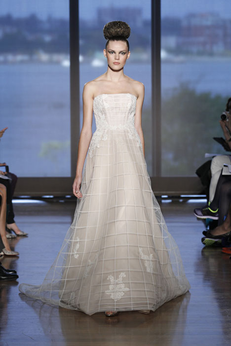 Arcadia gown from the 2014 Ines Di Santo collection, as seen on Bride.Canada