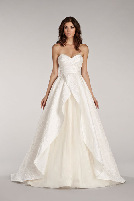 Venice gown from the 2014 Blush by Hayley Paige collection, as seen on Bride.Canada