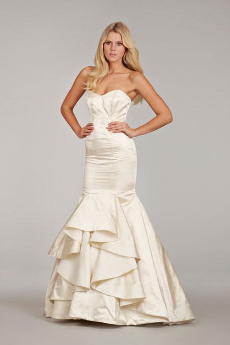 Monroe gown from the 2014 Hayley Paige collection, as seen on Bride.Canada