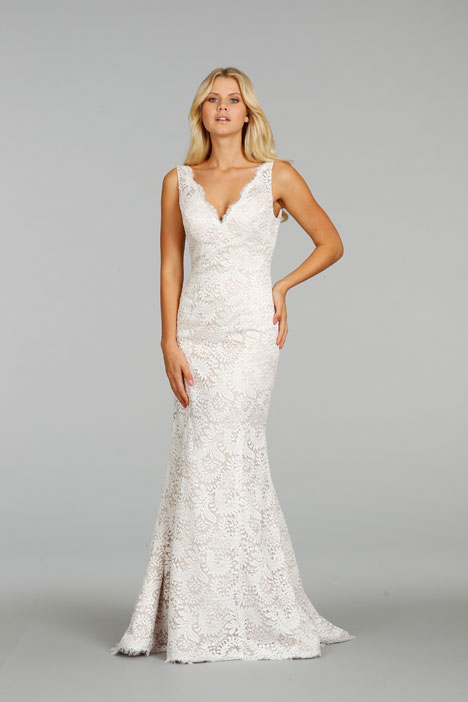 7407 gown from the 2014 Ti Adora by Allison Webb collection, as seen on Bride.Canada