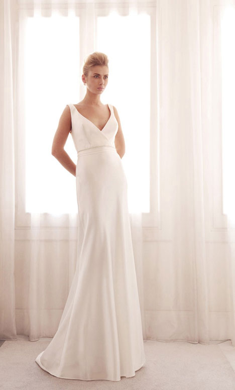 3707 gown from the 2014 Gemy Maalouf collection, as seen on Bride.Canada