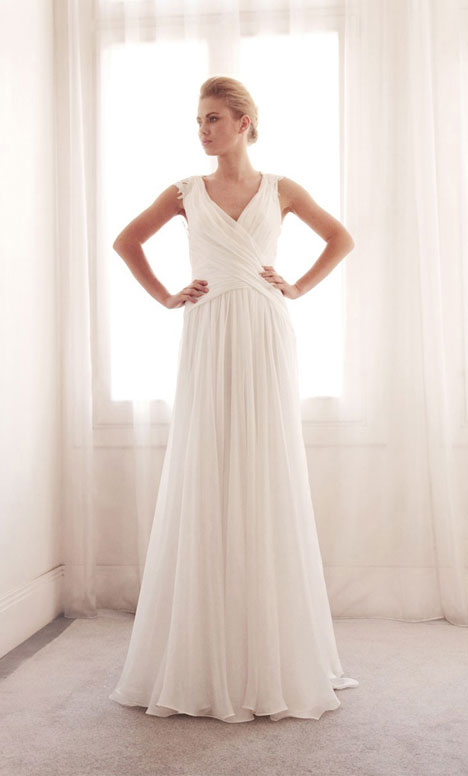 3708 gown from the 2014 Gemy Maalouf collection, as seen on Bride.Canada