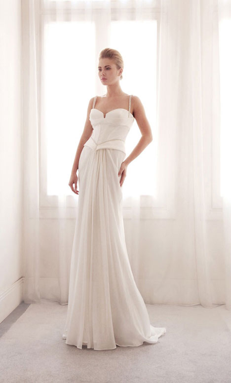 3709 gown from the 2014 Gemy Maalouf collection, as seen on Bride.Canada