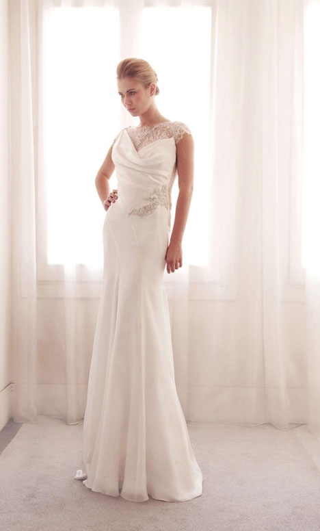 3711 gown from the 2014 Gemy Maalouf collection, as seen on Bride.Canada